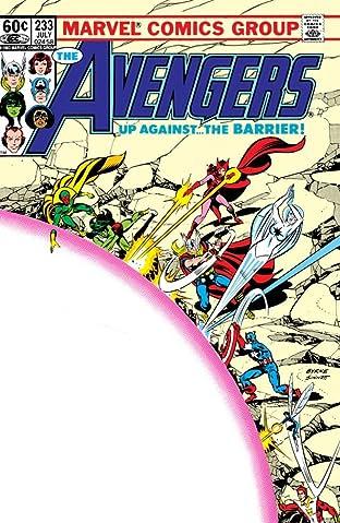 Avengers (1963-1996) #233