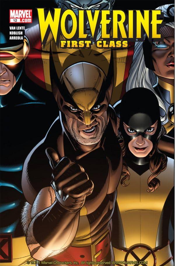Wolverine: First Class #12