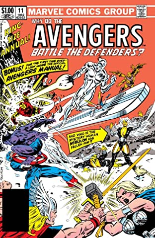 Avengers (1963-1996) Annual #11