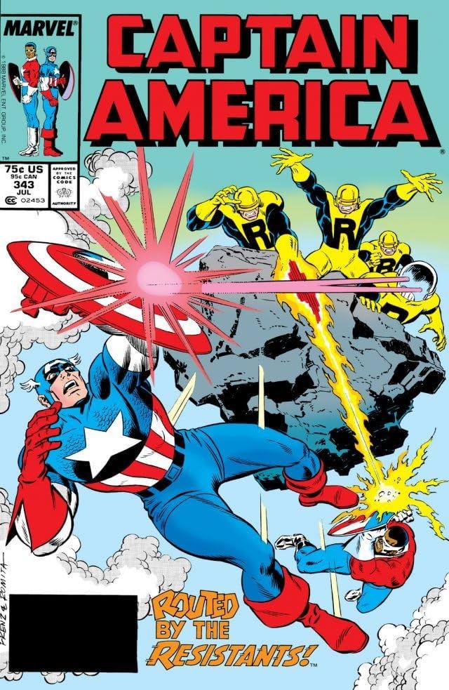 Captain America (1968-1996) #343