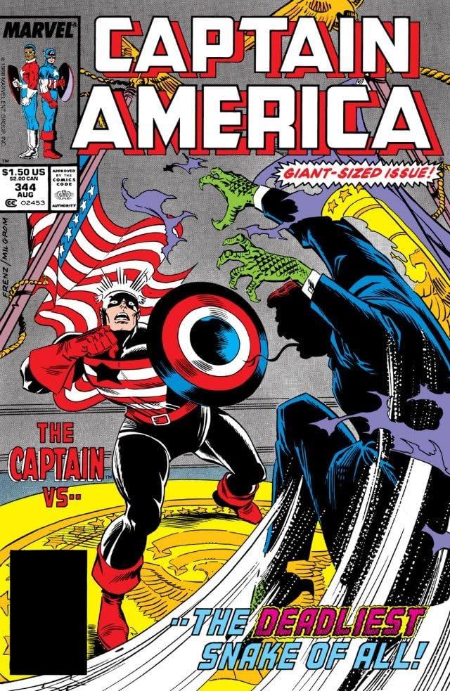 Captain America (1968-1996) #344