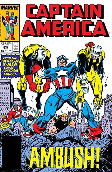 Captain America (1968-1996) #346