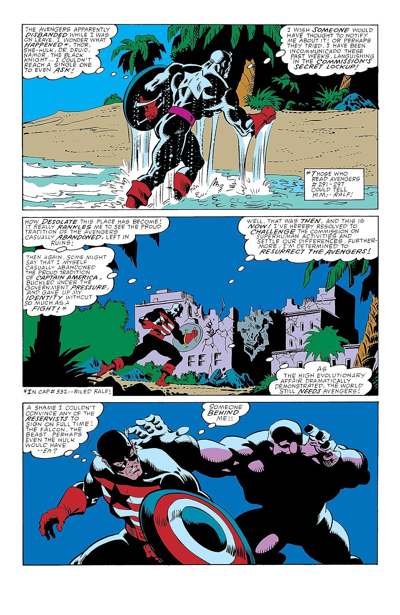 Captain America (1968-1996) #349