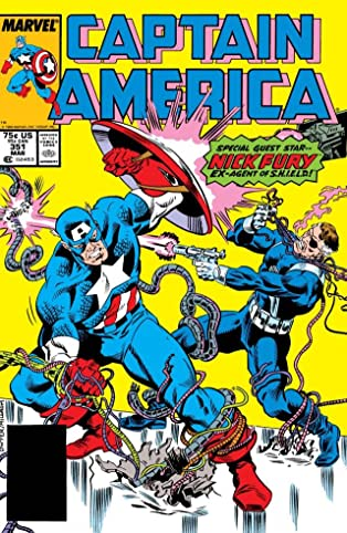 Captain America (1968-1996) #351
