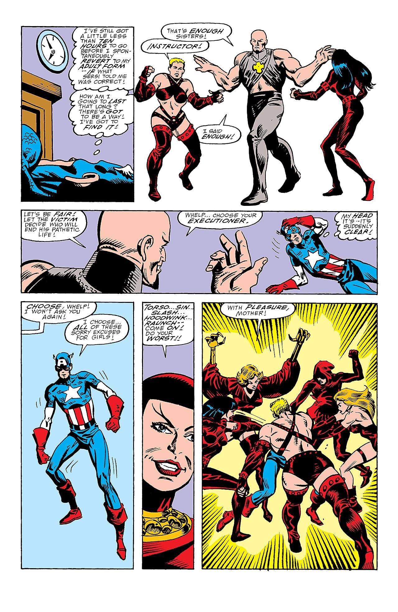Captain America (1968-1996) #357