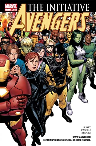 Avengers: The Initiative No.1