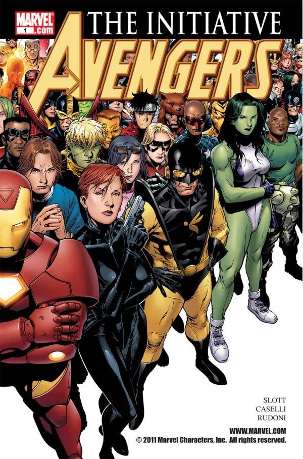 Avengers: The Initiative #1