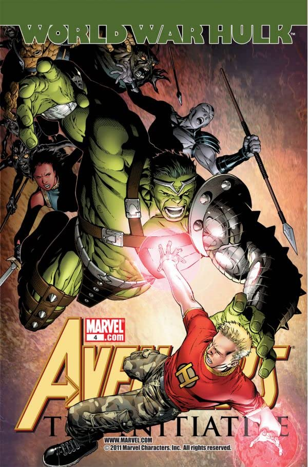Avengers: The Initiative #4