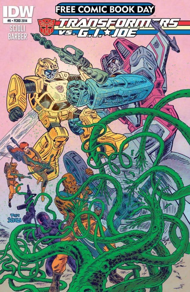 Transformers vs. G.I. Joe #0: FCBD Special