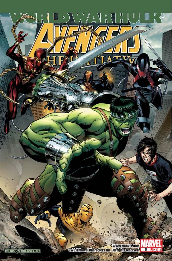 Avengers: The Initiative #5