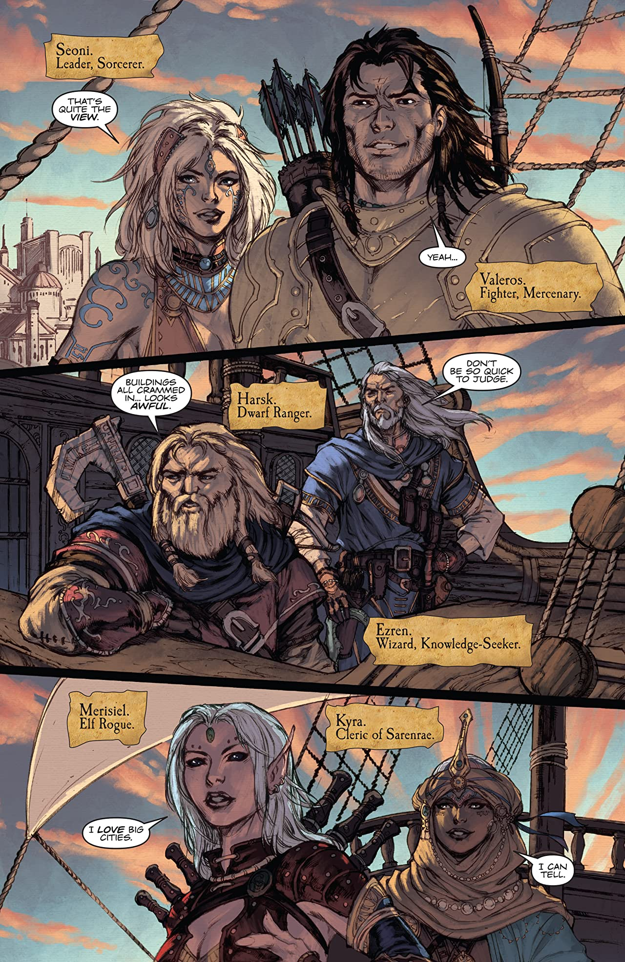Pathfinder: City of Secrets #1 (of 6)