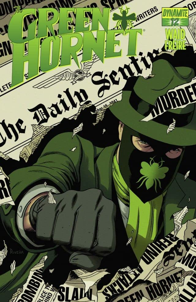 The Green Hornet #12: Digital Exclusive Edition