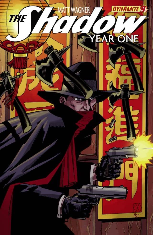 The Shadow: Year One #9 (of 10): Digital Exclusive Edition