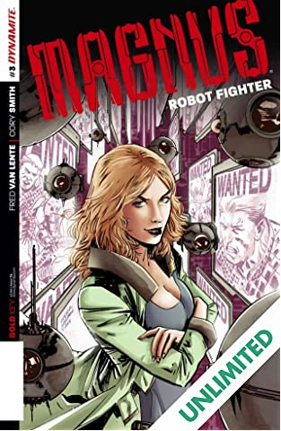 Magnus: Robot Fighter #3: Digital Exclusive Edition