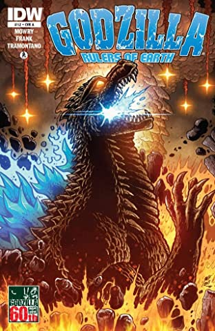 Godzilla: Rulers of Earth #12