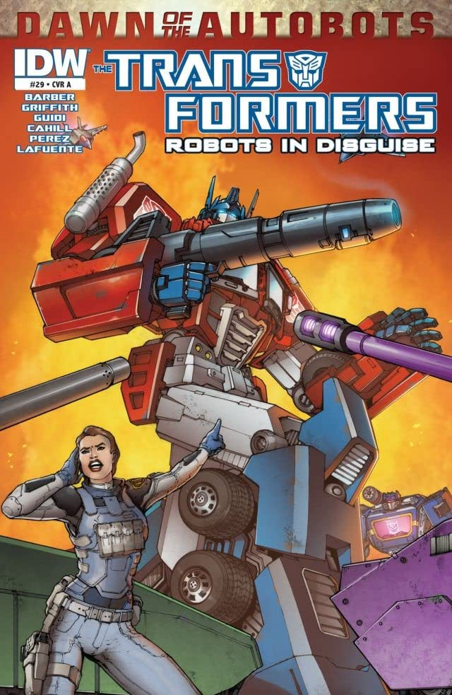 Transformers: Robots In Disguise (2011-2016) #29: Dawn of the Autobots