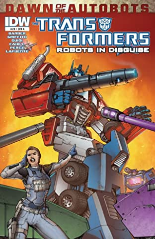 Transformers: Robots In Disguise (2011-) #29: Dawn of the Autobots