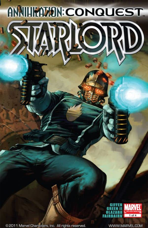 Annihilation: Conquest - Starlord #1 (of 4)