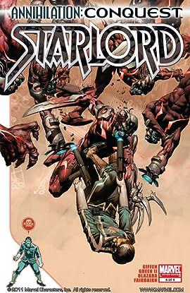 Annihilation: Conquest - Starlord #4 (of 4)