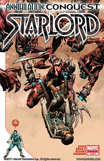Annihilation: Conquest - Starlord #4 (of 4)