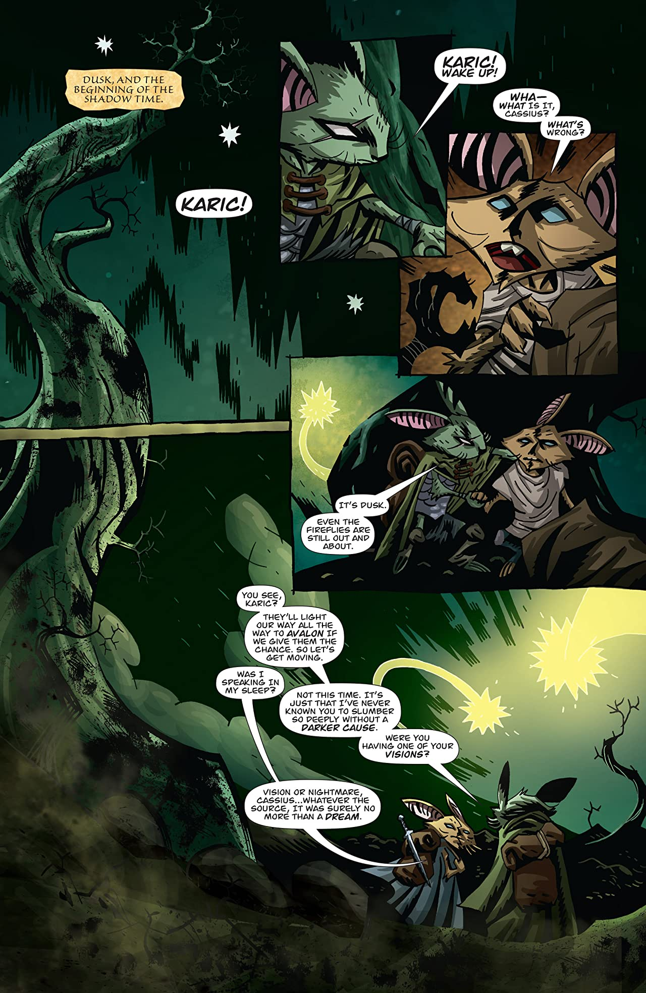 The Mice Templar Vol. 4: Legend #10