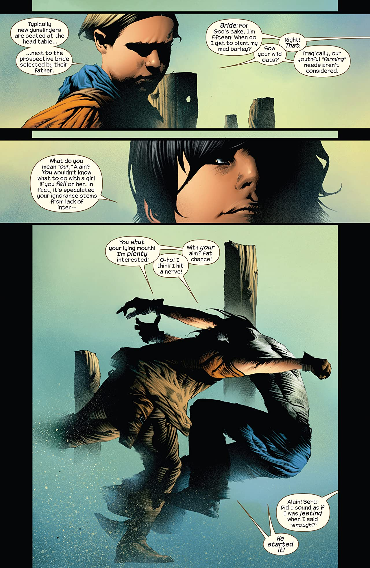 Dark Tower: Treachery #5 (of 6)