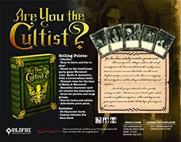 Are You the Cultist Party Game