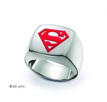 Superman Signet Ring Size 11
