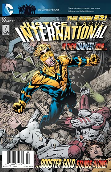 Justice League International (2011-) #7