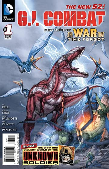 GI Combat (2012-) #1
