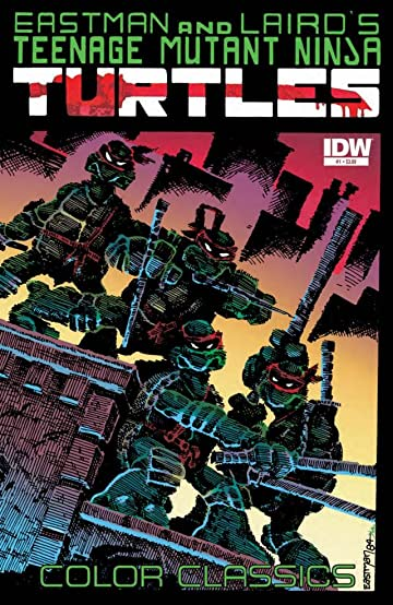 Teenage Mutant Ninja Turtles Color Classics #1
