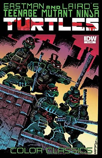 Teenage Mutant Ninja Turtles Color Classics #1