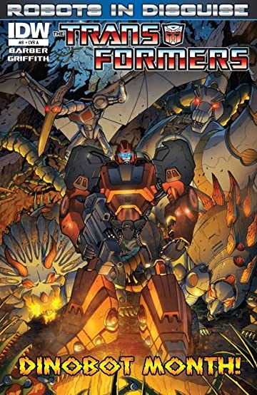 Transformers: Robots In Disguise Ongoing #8