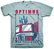 Transformers Optimus For President Grey: MED