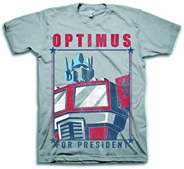 Transformers Optimus For President Grey: MED