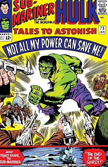Image result for Tales to Astonish #75