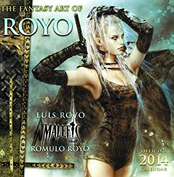 Fantasy Art of Luis Royo 2014 Wall Calendar (MR)