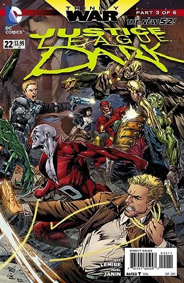 Justice League Dark (2011-) #22 (trinity)