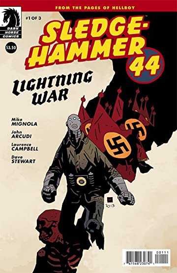 Sledgehammer 44 Lightning War #1 (of 3)