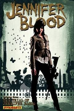 Jennifer Blood Vol. 4: Trial of Jennifer Blood TP (MR)