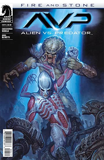 Alien vs. Predator Fire and Stone #4 (of 4)