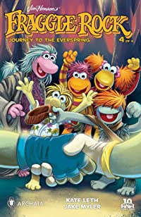 Jim Henson\'s Fraggle Rock: Journey to the Everspring  #4 (of 4)