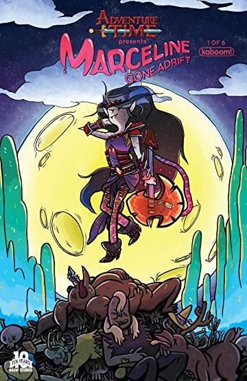 Adventure Time Marceline Gone Adrift #1 Subscription Amann Var