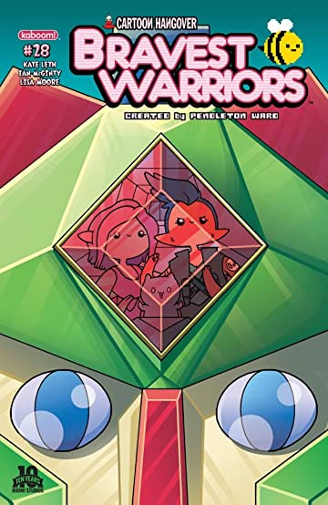 Bravest Warriors #28 Main Cvrs