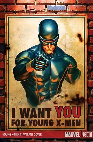 Young X-Men #1 Peterson Var