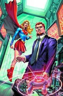 Convergence Supergirl Matrix #1