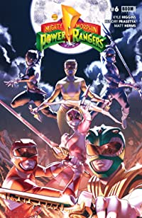 Mighty Morphin Power Rangers #6 Main Cvr