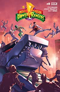 Mighty Morphin Power Rangers #8 Main Cvr