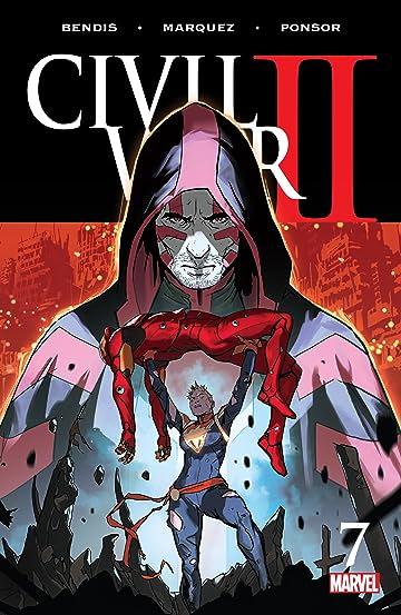 Civil War II (2016-) #7 (of 7)