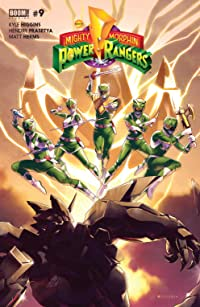 Mighty Morphin Power Rangers #9 Main Cvr